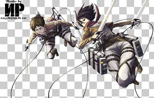 Mikasa Ackerman Eren Yeager A.O.T.: Wings Of Freedom Armin Arlert Attack On Titan PNG