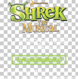 Shrek The Musical 0 Musical Theatre Tony Award Shrek Film Series PNG