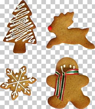 Biscuits Gingerbread Christmas Cookie PNG