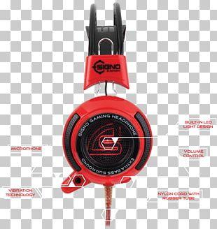 HQ Headphones Microphone Audio Plug & Play PNG