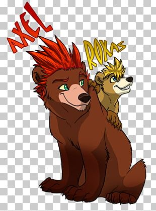 Lion Bear Fan Art Kingdom Hearts III PNG