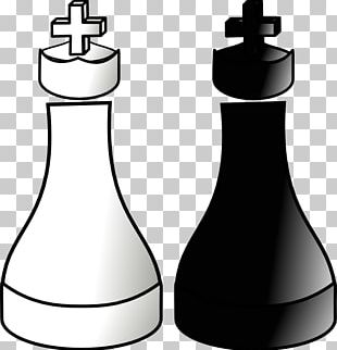 Chess Piece King White And Black In Chess Queen PNG