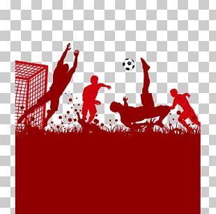 Football Poster Illustration PNG