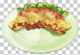 Garnish Dish Salad Fish Breakfast PNG