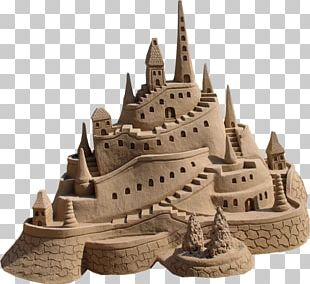 Sand Art And Play Castle Beach Sculpture PNG
