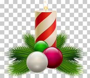 Candle Christmas PNG