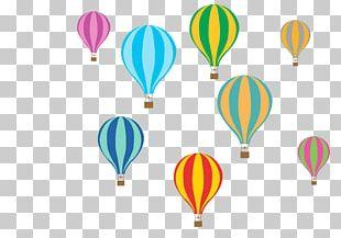 Paper Hot Air Ballooning Adhesive PNG
