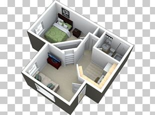 Studio Apartment House Real Estate Bedroom PNG