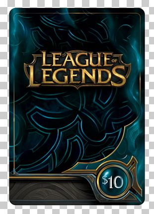 League Of Legends Riot Games Video Game Credit Card Multiplayer Online Battle Arena PNG