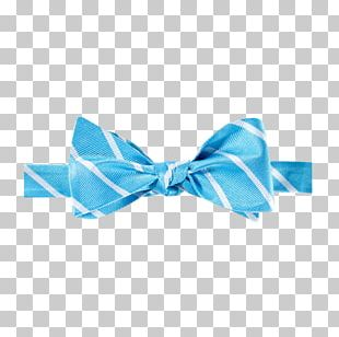 Bow Tie Necktie Scarf Blue Clothing Accessories PNG