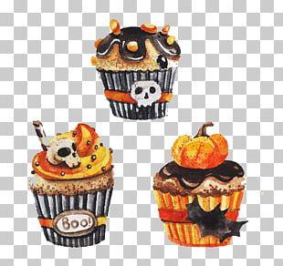 Cupcake Halloween PNG
