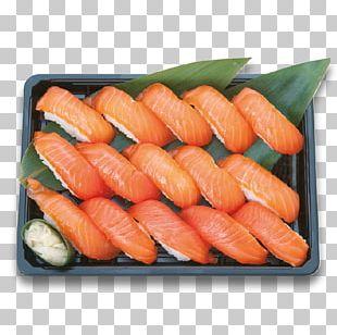 Sushi Sashimi Japanese Cuisine California Roll Smoked Salmon PNG