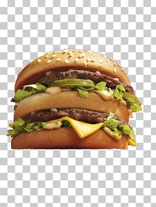 Hamburger McDonald's Big Mac Fast Food Salad PNG