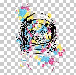 Printed T-shirt Hoodie Cat PNG
