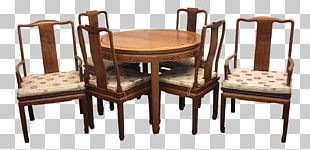 Table Chair Dining Room Matbord Furniture PNG