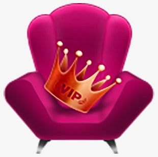 Crown Chair PNG