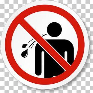Spitting No Symbol Sign PNG