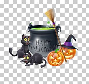 Witchcraft Cartoon Illustration PNG