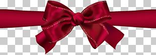 Beautiful Red Bow PNG