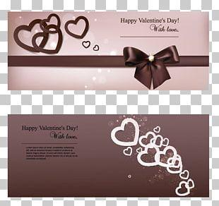 Greeting Card Valentines Day Adobe Illustrator PNG
