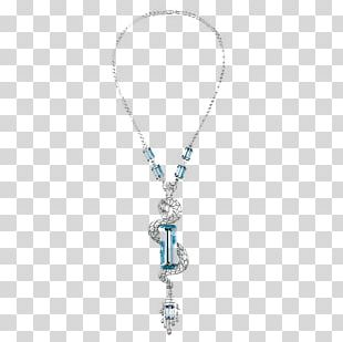 Locket Necklace Turquoise Chain Jewellery PNG