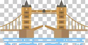 London Bridge London Eye Tower Bridge Architecture PNG