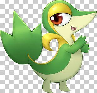 Pokemon Black & White Pokémon Adventures Snivy Ash Ketchum PNG