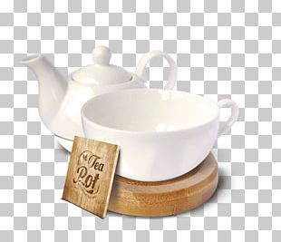 White Tea Kettle Teapot Teacup PNG