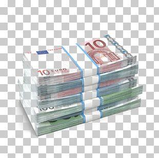 Euro Banknotes Cash Euro Coins PNG