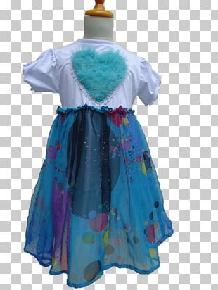 Dress Dance Costume Turquoise PNG