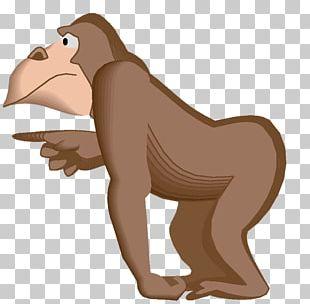 Gorilla Primate Monkey Animal PNG