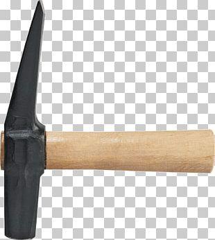 Hammer Pickaxe Tool Splitting Maul Chisel PNG