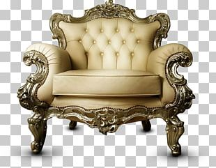 Chair Couch Upholstery Furniture Table PNG