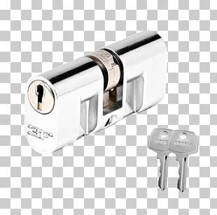 Cylinder Key Pin Tumbler Lock Household Hardware PNG