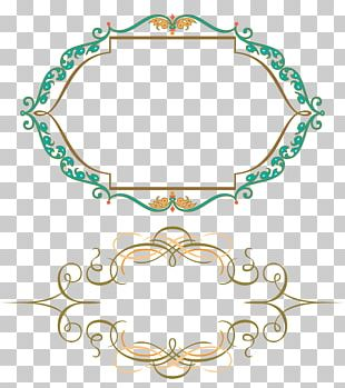 Frames Ornament Vignette Drawing PNG