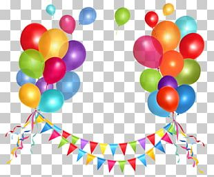 Birthday Cake Balloon PNG