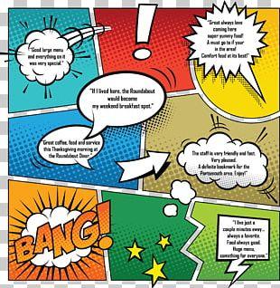 Comic Book Graphics Comics Comic Strip Illustration PNG