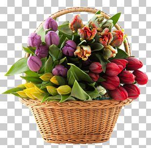 Floral Design Floristry Flower Basket Rose PNG