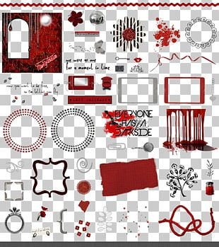 Graphic Design Red PNG