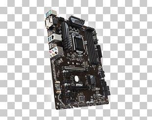 Intel LGA 1151 MSI Z370-A PRO Motherboard DDR4 SDRAM PNG