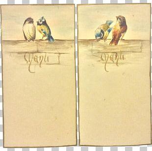 Paper Beak Bird Painting PNG