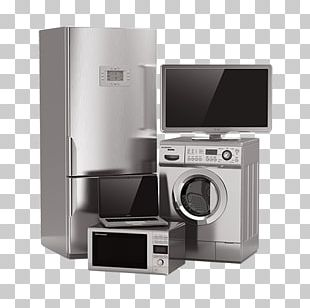 Home Appliance Major Appliance Refrigerator Washing Machine Small Appliance PNG