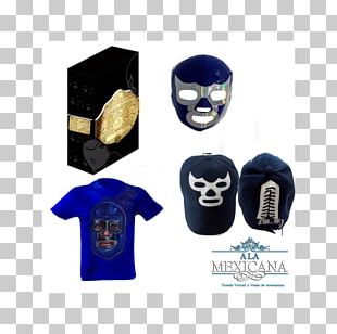 Professional Wrestler Lucha Libre Professional Wrestling Mexican Cuisine Cobalt Blue PNG