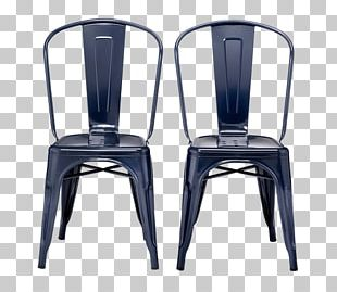 Dining Room Chair Metal Seat Table PNG