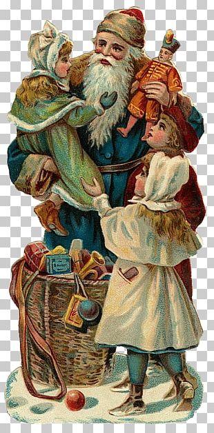 Saint Nicholas Santa Claus Christmas Day Christmas Card Post Cards PNG
