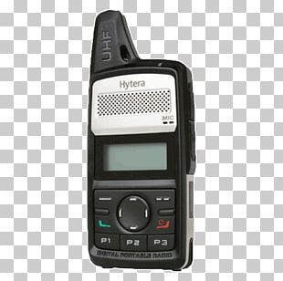 Digital Mobile Radio Two-way Radio Walkie-talkie Hytera PNG