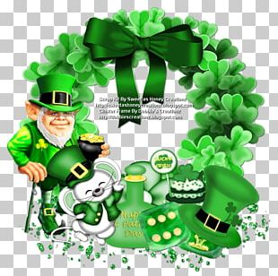 Saint Patrick's Day March 17 Irish People Four-leaf Clover PNG