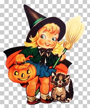 Halloween Party Vintage Clothing Holiday Witchcraft PNG