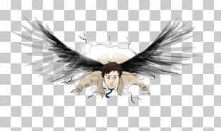 Castiel Crowley T-shirt Dean Winchester Drawing PNG