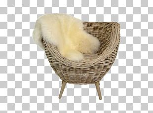 Chair NYSE:GLW Wicker Basket PNG